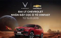 Từ hôm nay, đại lý Chevrolet chính thức nhận đặt cọc xe ô tô VinFast