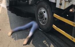 Tai nạn liên hoàn giữa xe tải và xe máy, cô gái nằm tại hiện trường khiến tất cả bị ám ảnh