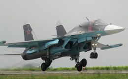 Su-34 phá hủy xe cơ giới gắn vũ khí của khủng bố ở Syria từ độ cao 6000 mét
