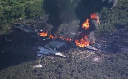 """""""Ngựa thồ"""" C-130 của Mỹ gặp vấn đề sau tai nạn chết người"""