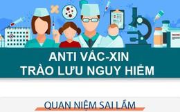 Anti vắc xin - trào lưu nguy hiểm