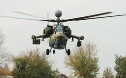 """Nuốt bụi: """"Siêu thợ săn đêm"""" Mi-28NM tôi luyện trong cát nóng Syria - Khủng bố khiếp sợ"""