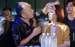 Vợ chồng Thu Trang quấn quýt không rời nhau tại sự kiện