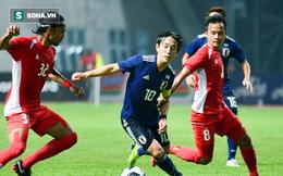 Việt Nam hưởng lợi khi Myanmar thua đậm Nhật Bản