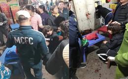 """Kẻ nổ súng cướp tiền chợ Long Biên hét lên: """"Tất cả ngồi im đưa tiền đây"""""""