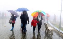 Nhiều khu vực khả năng cao có lốc, sét, mưa đá, Hà Nội mưa, trời lạnh