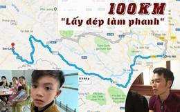 Gia đình cậu bé 13 tuổi đạp xe 100km ngỡ ngàng khi bỗng dưng nổi tiếng