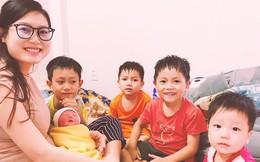 """Chụp ảnh bên 5 đứa trẻ, bà mẹ 9x bỗng thành người mượn con hàng xóm """"câu like"""" và sự thật đằng sau"""