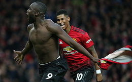 Lukaku lập cú đúp ngoài dự kiến, Man United nhọc nhằn giành trọn 3 điểm
