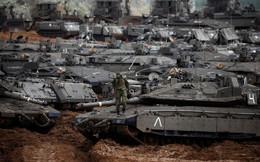 7 ngày qua ảnh: Xe tăng Israel dày đặc gần biên giới với dải Gaza