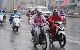 Không khí lạnh gây mưa dông ở Bắc Bộ