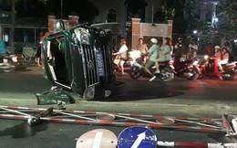 Xe ô tô biển xanh của Sở Ngoại vụ Tiền Giang gây tai nạn