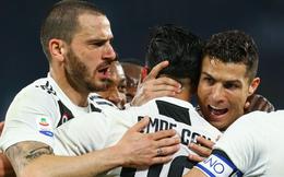 Kéo sập pháo đài vững chắc nhất, Ronaldo và Juventus chạm một tay vào chức vô địch