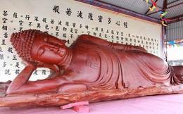 Video: Chiêm ngưỡng Tôn tượng Đức Phật Thích Ca nhập niết bàn bằng gỗ lũa nguyên khối lớn nhất Việt Nam