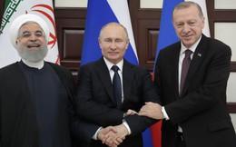 """Vì sao Nga-Iran-Thổ Nhĩ Kỳ đang """"băng băng"""" tới đích lại bất ngờ """"vấp ngã"""" cùng nhau ở Syria?"""