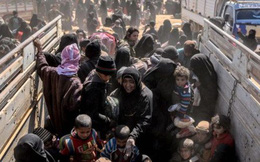 Phiến quân IS bị bắt lại khi cố trốn khỏi thành trì cuối cùng ở Syria