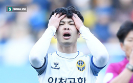 """Màn """"vò đầu bứt tai"""" của Công Phượng và điều ít biết đằng sau nghịch lý Incheon United"""