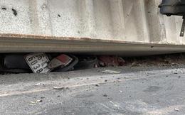Tài xế xe đầu kéo để tuột thùng container đè 3 bà cháu tử vong dương tính với ma tuý