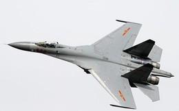"""""""Hành động bất thường"""" của 2 chiến đấu cơ J-11 Trung Quốc trên eo biển Đài Loan"""