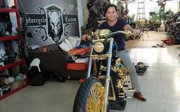 3 mô tô khủng mạ vàng 10 tỷ đồng của Phúc XO - người đeo nhiều vàng nhất Việt Nam
