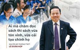 Phát biểu truyền cảm hứng sâu sắc của vị 'Bộ trưởng mê sách' trong Hành trình Từ Trái Tim