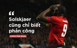 Van Gaal nói đúng, hóa ra Man United không biết tấn công!
