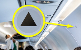 """Bí mật """"tam giác đen"""" trên máy bay: Nhỏ nhưng có tác dụng vô cùng lớn khi khẩn cấp"""