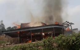 Người đàn ông bị thiêu cháy cùng căn nhà gỗ tiền tỷ