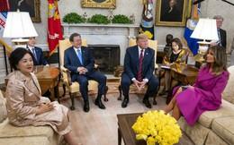 Nói chuyện riêng không quá 5 phút, TT Hàn Quốc muốn nhanh nhưng ông Trump chưa vội về đàm phán Mỹ Triều
