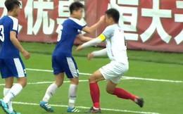 Báo TQ khen bản lĩnh của đội nhà sau khi đội trưởng lãnh cú đấm từ cầu thủ Hà Nội FC