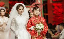 """Hoa hậu Hoàng Dung e ấp và hạnh phúc trong ngày """"Vu quy"""""""