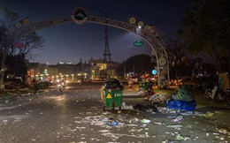 Đà Lạt - thành phố ngàn hoa ngập ngụa rác sau kỳ nghỉ lễ