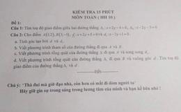 Buông nhẹ 1 câu cuối đề kiểm tra, giáo viên khiến học sinh sợ xanh mặt, tắt ngấm ý định quay cóp hỏi bài