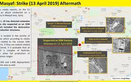 """Ảnh vệ tinh chứng minh Israel hủy diệt mục tiêu Iran """"chính xác tuyệt đối"""""""