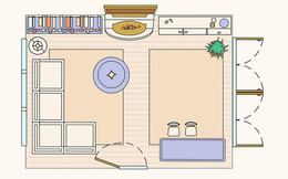 Có 10 bản vẽ thiết kế phòng khách cực tỉ mỉ này thì bạn còn lo gì việc trăn trở xem bố trí phòng khách thế nào cho hợp lý