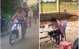 Tên trộm xe máy bị bắt sau 4 ngày chỉ vì chiếc áo kẻ đỏ