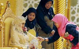 Nàng dâu hoàng gia Brunei từng gây choáng trong đám cưới phủ vàng và kim cương xa xỉ bậc nhất giờ ra sao?