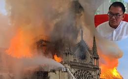 Kiến trúc sư Việt Nam ứng tuyển thiết kế lại Nhà thờ Đức Bà Paris