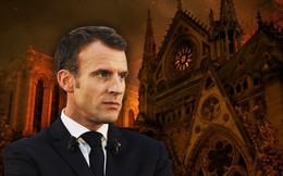 """Vụ hỏa hoạn giữa bối cảnh biểu tình có giúp Tổng thống Macron """"chuyển bại thành thắng""""?"""