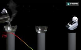 Phép thuật nhiệt động học: Biến nước sôi thành nước đá mà không cần tiêu hao năng lượng