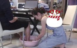Cuộc sống giàu có của hoa hậu quỳ gối rửa chân cho chồng