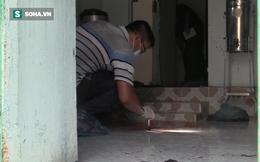 [Tường thuật từ hiện trường] Công an thu thập dấu vết dưới nền nhà vụ thảm sát 3 người trong một gia đình