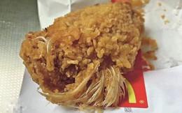 Thực khách phát hiện cánh gà McDonald còn nguyên lông