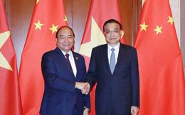 Thủ tướng Nguyễn Xuân Phúc hội đàm với Thủ tướng Trung Quốc Lý Khắc Cường
