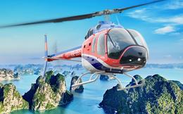 Hơn 2 triệu đồng cho 12 phút ngắm vịnh Hạ Long bằng trực thăng