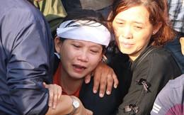 Nhiều người đến đưa tiễn 3 nạn nhân vụ thảm sát ở Bình Dương