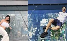 Dân tình hốt hoảng với sàn kính cao ở độ cao trên 300m ngắm trọn cảnh thủ đô Bangkok