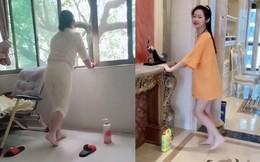 Khi sữa tắm 'soán ngôi' máy chạy bộ và trào lưu vận động vừa tiết kiệm vừa hiệu quả đang gây sốt trên MXH Trung Quốc khiến chị em thích thú