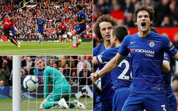 Vòng 36 Premier League 2018/19: Man United 1-1 Chelsea
