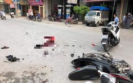 Va chạm với xe máy SH trong đoàn rước dâu, 2 cha con tử vong ở Thái Bình